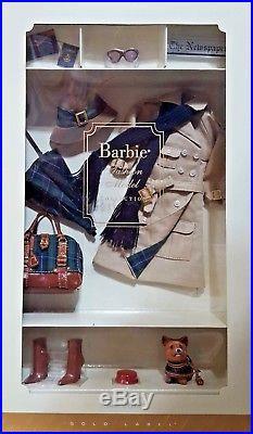 True Brit with dog Silkstone Barbie Accessory HTFNRFBGOLD LABEL2005MIB