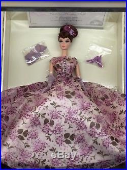 VIOLETTE Silkstone Barbie MIB LE 999 PLATINUM LABEL VHTF