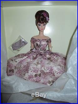 VIOLETTE Silkstone Barbie Mint With SHIPPER- Platinum Label! NRFB RARE