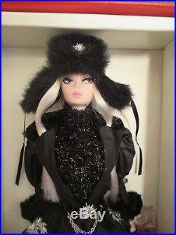 Verushka Russian SILKSTONE Barbie -NRFB Only 4000 made- Rare