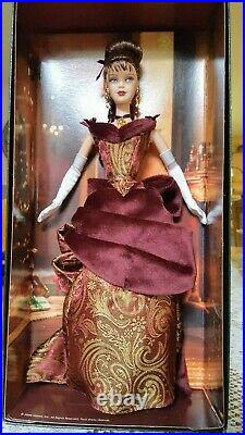 Victorian Holiday Barbie 2006 Exclusive Gold Label NRFB