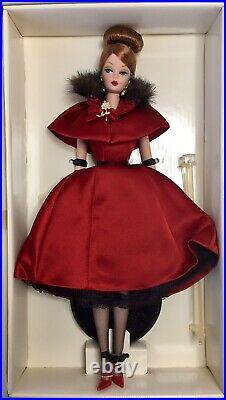 Vintage Mattel Silkstone Fashion Model Collection Ravishing In Rouge-nrfb