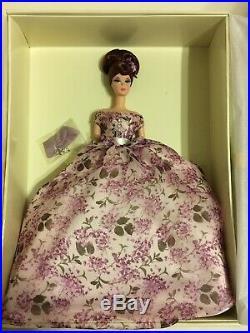 Violette Silkstone Barbie In Shipper Nrfb Platinum Label Vhtf