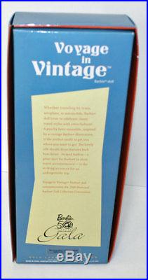 Voyage in Vintage Barbie Doll From the 2009 Barbie Convention! Gold Label, N6623